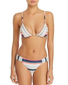 Lucky Brand - Sonora Serape Triangle Bikini Top