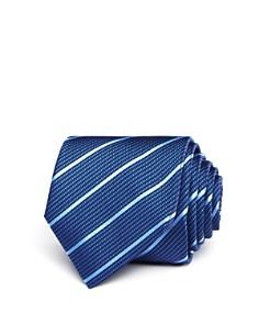 HUGO Textured Stripe Skinny Tie - Bloomingdale's_0