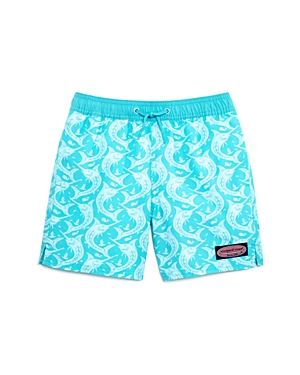 Vineyard Vines Boys Marlin Out of Water Swim Trunks  Little Kid Big Kid