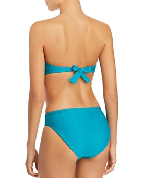 Red Carter - The Wave Bandeau Bikini Top & Lola Bikini Bottom