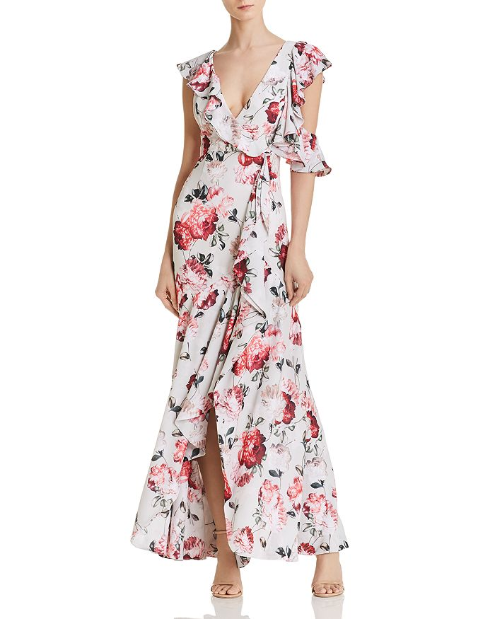Fame and Partners - The Beckman Cold-Shoulder Maxi Dress