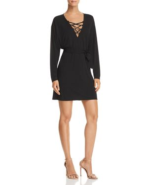 SIERA LACE-UP DRESS from Bloomingdale's