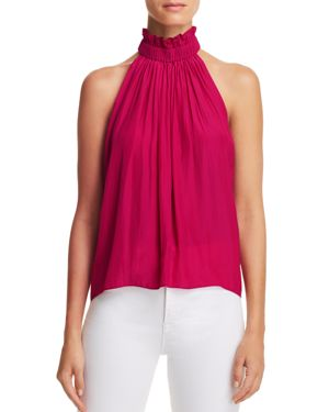 SELENE HIGH-NECK TOP from Bloomingdale's