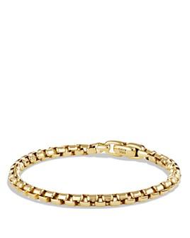 David Yurman - Box Chain Bracelet in 18K Gold