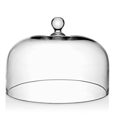 """William Yeoward Crystal - Country Cake Dome, 10.25"""""""
