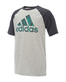 Adidas - Boys' Raglan Logo Tee - Little Kid