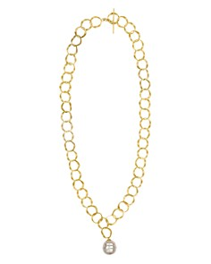 "Majorica Linked-Ring Simulated Pearl Pendant Necklace, 24"" - Bloomingdale's_0"