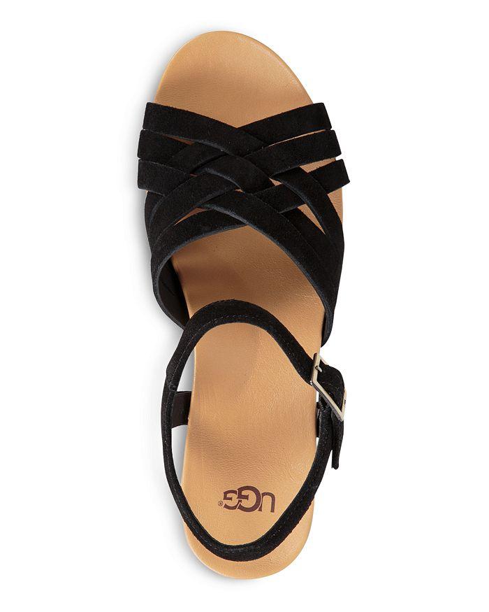 e364ee952d6 UGG® - Women s Uma Suede Platform Wedge Sandals