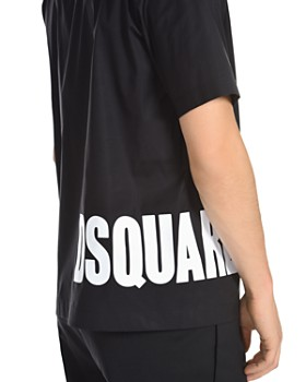 DSQUARED2 - Wraparound Logo Polo Shirt