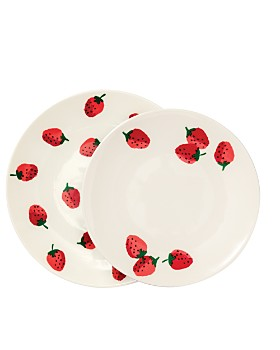 kate spade new york - Strawberries Melamine Dinnerware