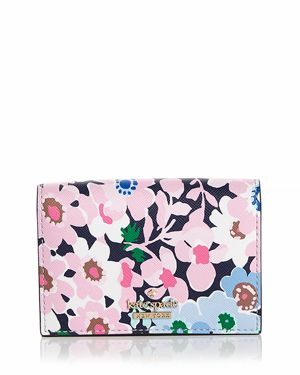 kate spade new york Cameron Street Daisy Garden Gabe Leather Card Case 2955744