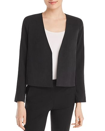 Eileen Fisher - Silk Cropped Jacket