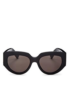 Saint Laurent - Women's Oversized Cat Eye Sunglasses, 54mm