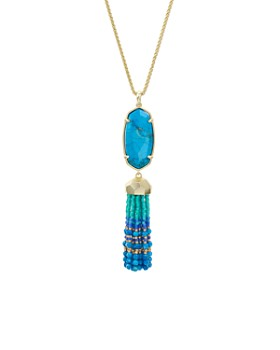 Kendra Scott - Eva Tassel Pendant Necklace, 32""