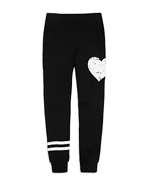 Flowers by Zoe Girls French Terry Heart Stripe Jogger Pants  Big Kid