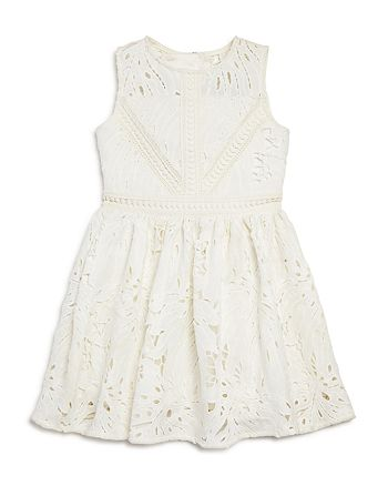 Bardot Junior Girls  Panama Leaf-Lace Dress - Little Kid ... 95ebdfc52