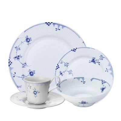 Blue Elements Dinner Plate