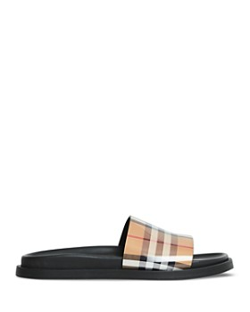 Burberry - Women's Ashmore Vintage Check Pool Slides