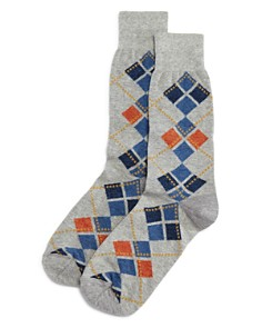 The Men's Store at Bloomingdale's Pop Mini Argyle Socks - 100% Exclusive_0