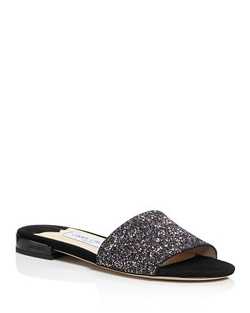 c4d090808726 Jimmy Choo - Women s Joni Glitter Slide Sandals