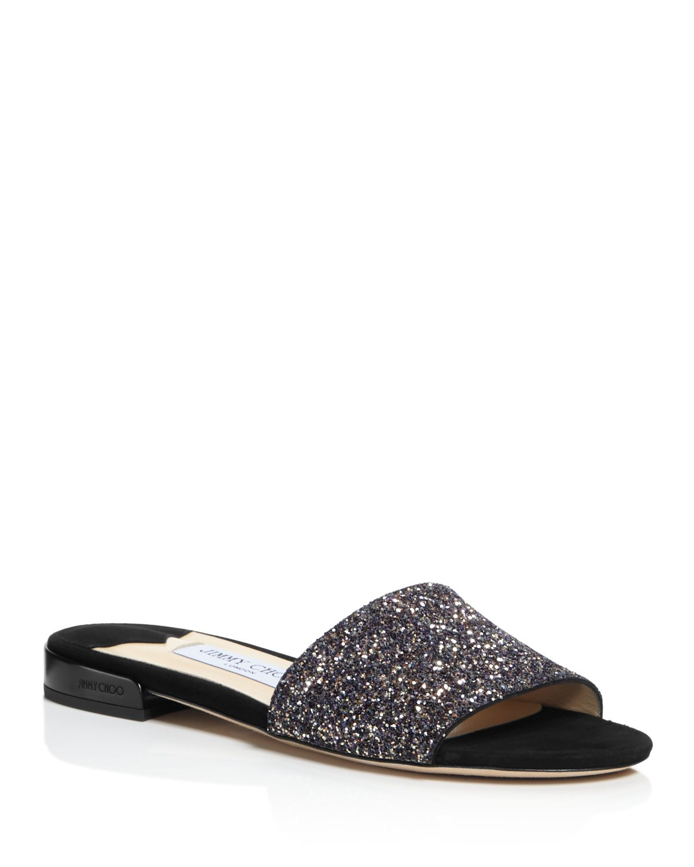 Jimmy choo Women's Joni Embellished Slide Sandal