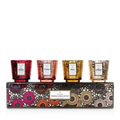 Voluspa - Pedestal Candle Gift Box, Set of 4
