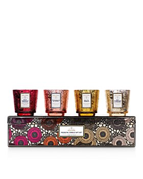 Voluspa - Pedestal Candle Gift Box, Set of 4