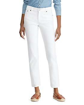 Ralph Lauren - Straight Leg Jeans in White