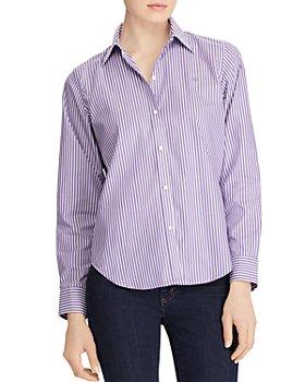 Ralph Lauren - Pinstriped No-Iron Shirt
