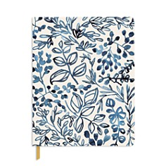 Fringe Studio Watercolor Indigo Leaf Journal - Bloomingdale's_0