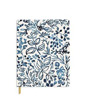 Fringe - Studio Watercolor Indigo Leaf Journal