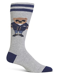 Polo Ralph Lauren Commodore Bear Socks - Bloomingdale's_0