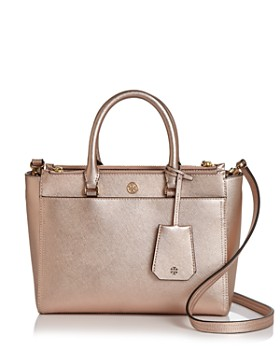 528b2e5a9a56 Tory Burch - Robinson Small Double Zip Leather Tote ...