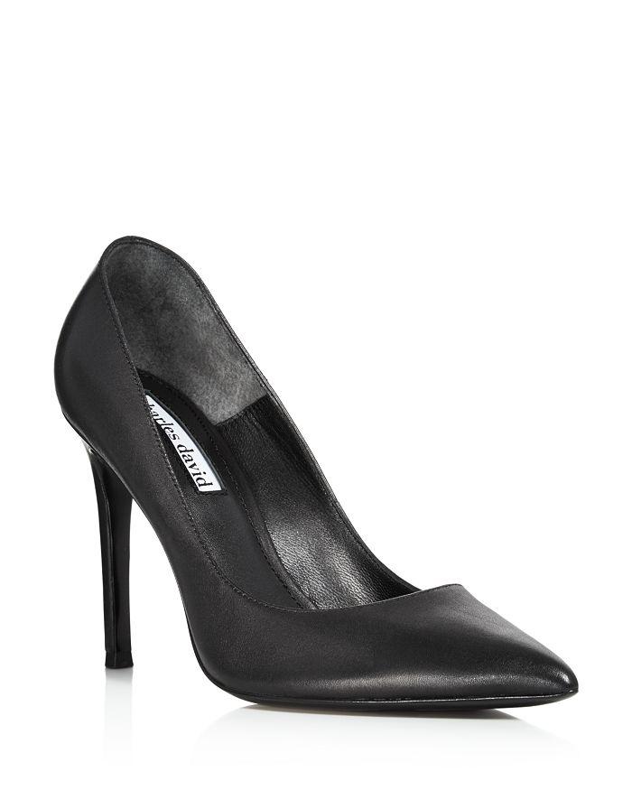 Charles David - Women's Caleesi Leather Pointed Toe High-Heel Pumps