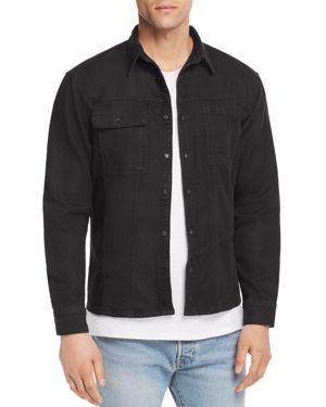 VITALY Trucker Button-Down Shirt in Vintage Black