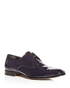 Salvatore Ferragamo - Broadway Patent Leather Plain-Toe Oxfords