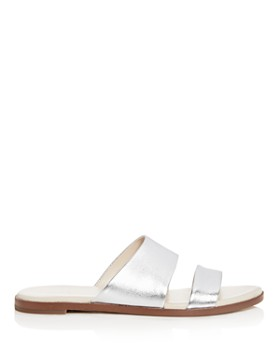 Cole Haan - Women's Anica Leather Slide Sandals
