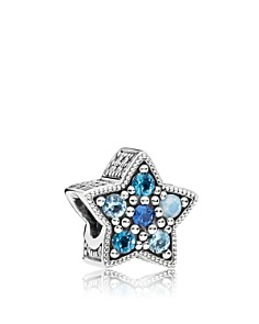PANDORA Sterling Silver & Crystal Bright Star Charm - Bloomingdale's_0