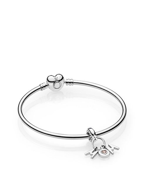 Pandora Perfect Mom Charm Bangle Bracelet Gift Set