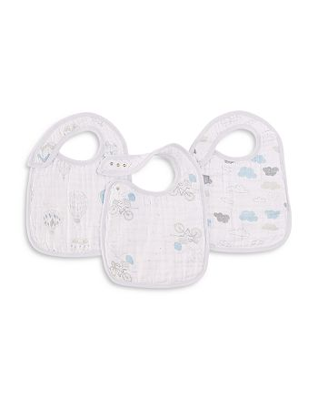 Aden and Anais - Night Sky Reverie Classic Snap Bibs, 3 Pack