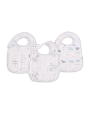 Aden and Anais Night Sky Reverie Classic Snap Bibs 3 Pack