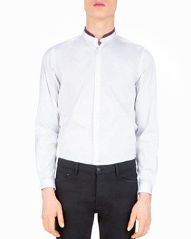 The Kooples - Paper Popeline Slim Fit Button-Down Shirt