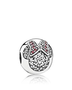 Pandora - Sterling Silver Disney Minnie Pavé Clip