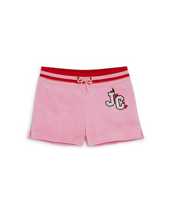 Juicy Couture Black Label - Girls' Cherry Grove Terry Shorts - Little Kid