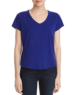 Eileen Fisher Petites V-Neck Tee