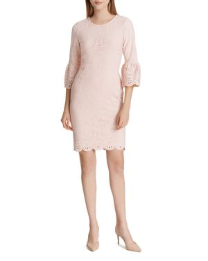 Calvin Klein Laser-Cut Bell-Sleeve Dress 2950716