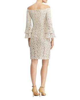 Ralph Lauren - Off-the-Shoulder Lace Dress