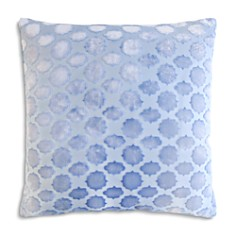 "Kevin O'Brien Studio - Mod Fretwork Velvet Decorative Pillow, 20"" x 20"""