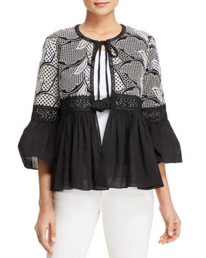 ELECTRA TIE-FRONT JACKET - 100% EXCLUSIVE