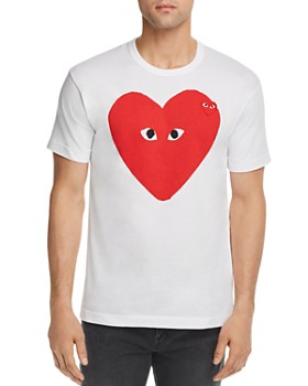 1174f857d9ba Comme Des Garcons PLAY - Big Heart Graphic Tee